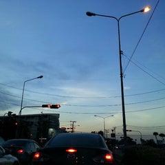 Photo taken at แยกนิด้า (NIDA Intersection) by Talerngsak S. on 5/4/2013