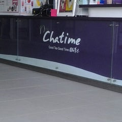 Photo taken at Chatime by Syafiqah M. on 12/14/2012
