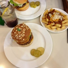 Photo taken at Kraze Burgers by Jungwoo K. on 12/29/2012