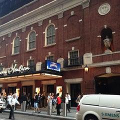 Photo taken at Stephen Sondheim Theatre by Courtney S. on 6/19/2013