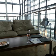 Photo taken at BA Galleries First Lounge by Scott O. on 3/17/2013
