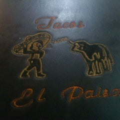 Photo taken at Tacos El Paisa by Jorge A. on 12/29/2012