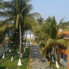 Photo taken at Olas Altas Hotel Surf by Luis R. on 5/13/2013