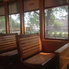 Photo taken at TECO Line Streetcar - Centennial Park Station by Janice Lynn W. on 8/23/2013