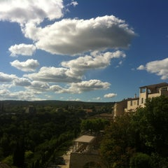 Photo taken at Cercle Républicain de Gordes by Thomas S. on 5/21/2013