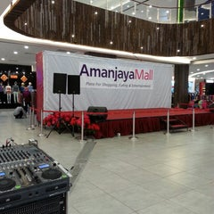 Photo taken at Amanjaya Mall by Adie S. on 3/28/2013