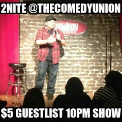 Photo taken at Comedy Union by Cisco L. on 4/4/2015