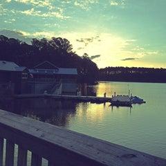 Photo taken at Lake Johnson by Bethany G. on 3/21/2013