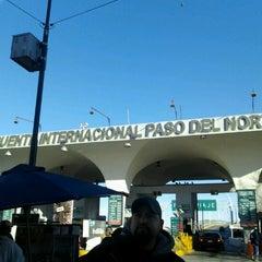 Photo taken at Puente Internacional Santa Fe (Paso Del Norte) by Melissa M. on 3/3/2013