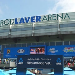 Photo taken at Rod Laver Arena by Maria R. on 1/17/2013
