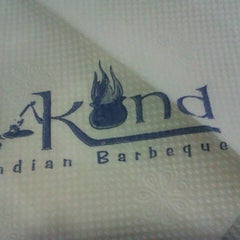 Photo taken at Kund Restaurant by Anshul A. on 3/21/2013