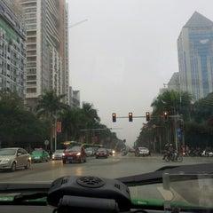 Photo taken at 广西沃顿国际大酒店 Guangxi Wharton International Hotel by Raman H. on 12/21/2012