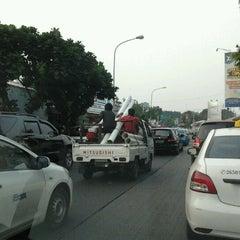 Photo taken at Jalan Raya Lenteng Agung by Dandun W. on 10/24/2012