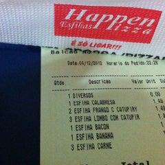 Photo taken at Happen Esfiha by Felipe R. on 12/5/2012