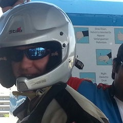 Photo taken at WDW Speedway - Richard Petty / Exotic Driving Experience by Leslie T. on 4/18/2013