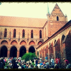Photo taken at Zisterzienserkloster Chorin by Rolli V. on 7/13/2013