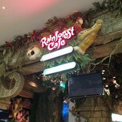 Photo taken at Rainforest Cafe Dubai by Юля К. on 6/21/2013