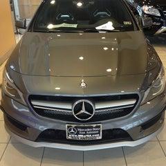 Photo taken at Mercedes-Benz of San Antonio by Fernando M. on 4/14/2014