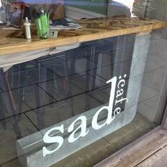 Photo taken at Sad cafe by Nola F. on 3/3/2013