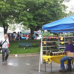 Photo taken at Farmers Market at Minnetrista by Dan M. on 5/16/2015
