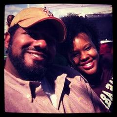 Photo taken at Kyle Field Zone Plaza by Odin C. on 10/20/2012
