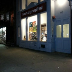 Photo taken at Lomography Gallery Store New York by Liana S. on 12/5/2012
