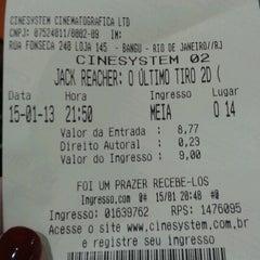 Photo taken at Cinesystem by Lorena V. on 1/15/2013