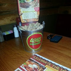 Photo taken at Logan's Roadhouse by Michael on 12/24/2012