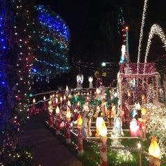 Photo taken at Christmas Light Display (christmasdisplay.org) by Sabrina H. on 12/17/2013