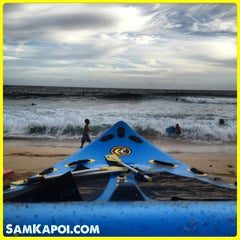 Photo taken at Makaha Beach Park by Sam K. on 4/29/2013