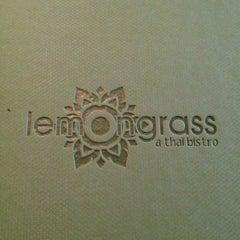 Photo taken at Lemongrass... A Thai Bistro by Crissy B. on 6/23/2013