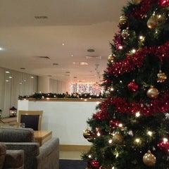Photo taken at Clayton Hotel by eric h. on 1/1/2013