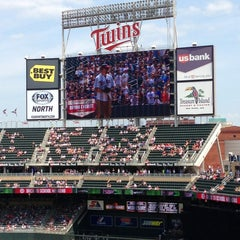 Photo taken at Target Field by Tony G. on 8/18/2013