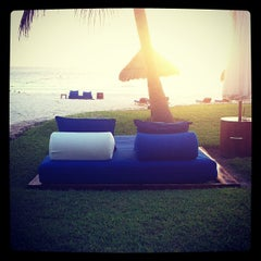 Photo taken at Maroma Hotel by Mario L. on 12/12/2012