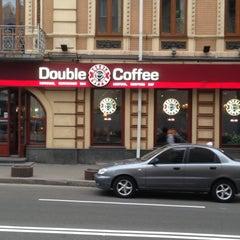 Photo taken at Double Coffee by Krot-krut on 5/1/2013