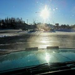 Photo taken at Rainmaker Car Wash by Jim C. on 1/27/2013