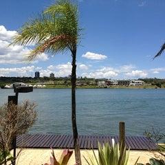 Photo taken at Mormaii Surf Bar by Karina B. on 12/19/2012