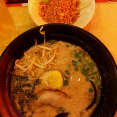 Photo taken at Ajisen Ramen by Lynnds N. on 3/22/2013