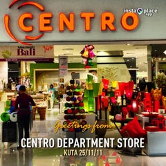 Photo taken at Centro Department Store by Henry Setiawan on 11/25/2012