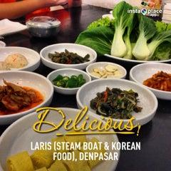 Photo taken at LARIS (steam boat & korean food) by Henry Setiawan on 4/6/2013