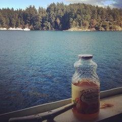 Photo taken at M/V Hyak (Washington State Ferry) by Jane H. on 11/3/2013