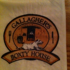 Photo taken at Gallagher's Boxty House by Gregory B. on 12/11/2012
