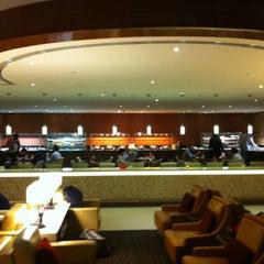 Photo taken at Emirates Lounge by Rajesh B. on 3/13/2014