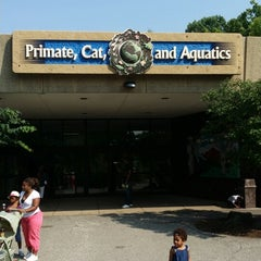 Photo taken at Primate, Cat & Aquatics Building by Mark A. on 8/4/2014