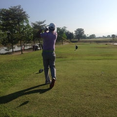 Photo taken at Gassan Marina Golf Club by Anne C. on 1/8/2014