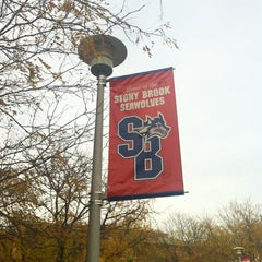 Photo taken at Stony Brook University by Vicente O. on 10/18/2011