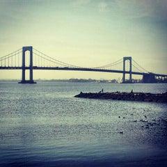 Photo taken at Throgs Neck Bridge by Gary on 4/16/2012