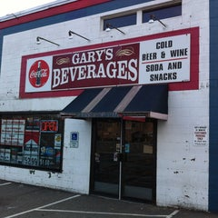 Photo taken at Gary's Beverages by Chris G. on 2/25/2012