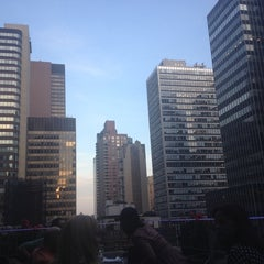 Photo taken at Henry's Roof Top Bar - @RSHotel by Christine S. on 5/26/2014