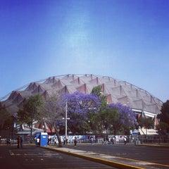 Photo taken at Palacio de los Deportes by Karmen V. on 3/7/2013